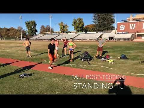 Standing Triple Jump