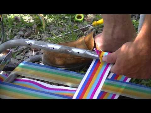 Reparar silla playera