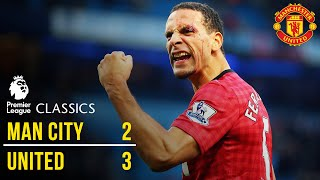 Manchester City 2-3 Manchester United (12/13) | Premier League Classics | Manchester United