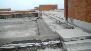 preview picture of video '淮南师范学院教学楼楼顶 Roof of Huainan Normal University's Classroom building  2009.3.4'