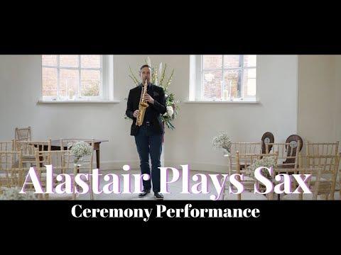Alastair Plays Sax Video