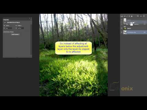Adobe Photoshop Tutorial 20 - Non Destructive Editing Adjustment Layers