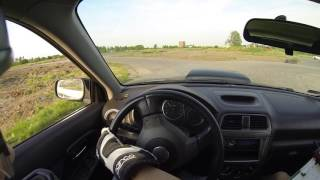 Jazda Subaru Impreza STI onboard - Tor Rakietowa Wrocław