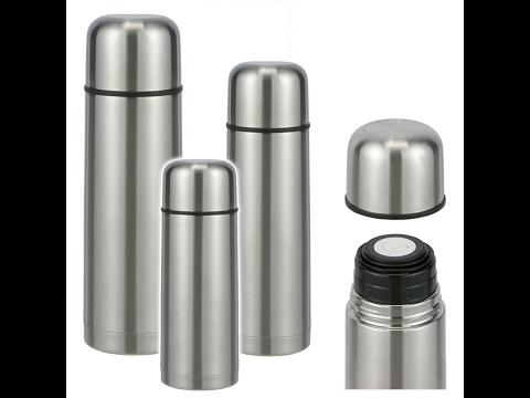 Thermosflasche aus Edelstahl Thermoskanne Isolierflasche Isolierkanne Teekanne Kaffeekanne