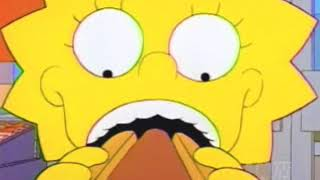 Lisa Simpson Tries Hot Dogs
