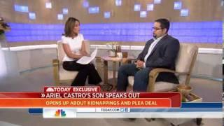 Ariel Castro's son: 'Behind bars is where he belongs'
