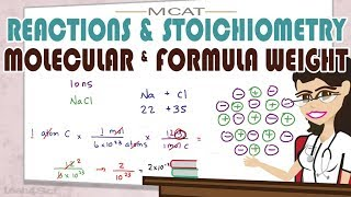 Molecular Weight And Formula Weight In MCAT General Chemistry
