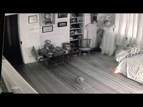 Griezelige activiteit gefilmd in Haunted Hotel in Texas