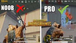 Tips For Every Pubg Mobile Players ! Pubg Mobile Noob Vs Pro Only Dp Challenge ! Pubg Mobile