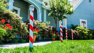 DIY Candy Cane Solar Light - Home & Family