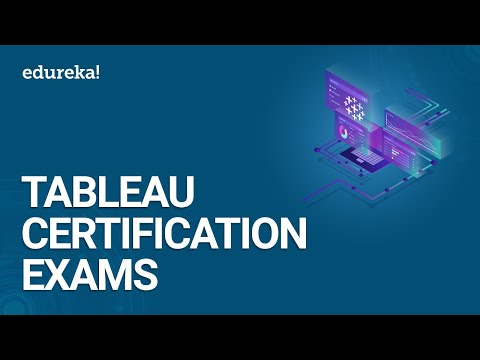 Tableau Certification Exams | Become a Tableau Certified ...