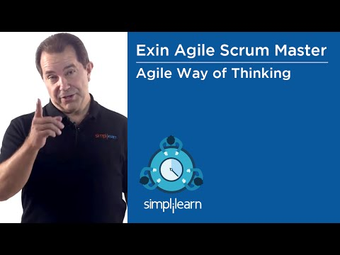 Agile Way Of Thinking | Scrum Master Training | Simplilearn - YouTube