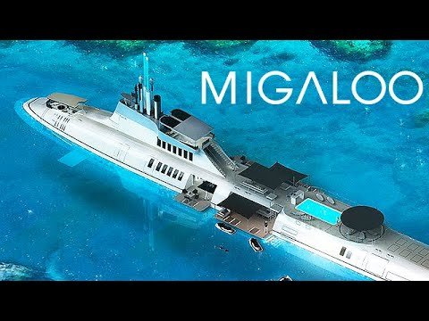 Migaloo Submarine - Worth $2.3 Billion Dollars