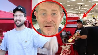 EMBARRASSING MY BEST FRIENDS AT TARGET!!