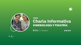 Charla Informativa Kinesiología