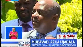 Mudavadi Musalia adai Rais Uhuru na Raila Odinga walishurutishwa