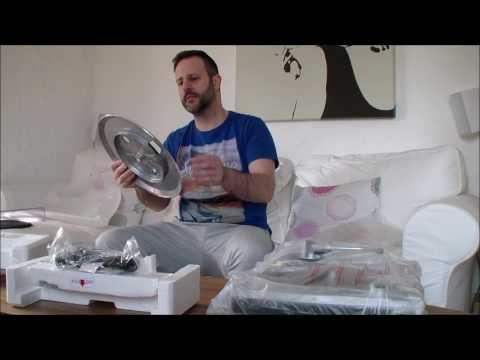 Turntable / Plattenspieler / Platine  Audio Technica AT-LP 120 USB Unboxing ( Deutsch )