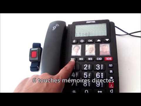 Switel 560 telephone senior sos