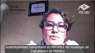 Sustentabilidad comunitaria en MiPyMEs del municipio de Capulálpam de Méndez