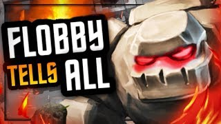 THE GOLEM GOD IS HERE! Flobby On Surgical Goblin, Golem Decks & Live Matches!