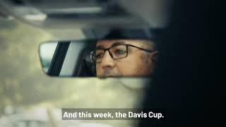 coche oficial de la Davis Cup Madrid Finals 2019 Trailer