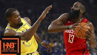 GS Warriors vs Houston Rockets Full Game Highlights | 01/03/2019 NBA Season