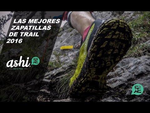 Las mejores zapatillas del 2016 ( Trail )
