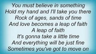Sweet - Leap Of Faith Lyrics