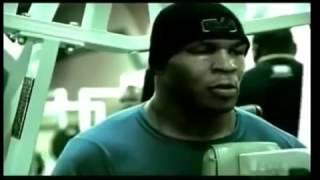 Майк Тайсон  тренировки на силу.  Mike Tyson   strength training