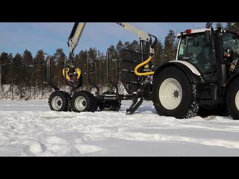 KESLA tractor attachments: Ice fishing