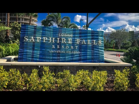 Universal's Loews Sapphire Falls Resort, Orlando, Florida-2020