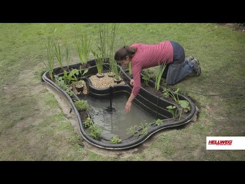 Gartenteich anlegen | Schritt-für-Schritt-Anleitung
