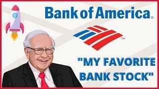 Is Bank of America (BAC) A Buy? || Warren Buffett's Favorite Bank Stock Analysis & Intrinsic Value