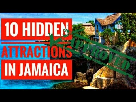 TOP 10 HIDDEN ATTRACTIONS IN JAMAICA
