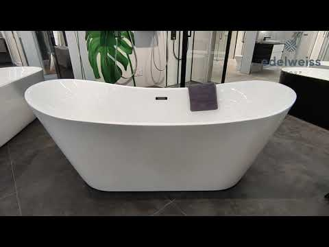 Акриловая ванна Black & White SB104