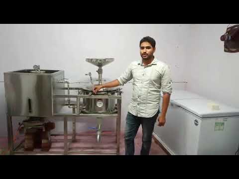 Semi-Automatic Soya Milk Making Machine