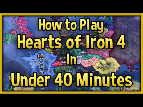 Hearts of Iron 4 Tutorial