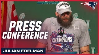Julian Edelman On Being Named Super Bowl LIII MVP
