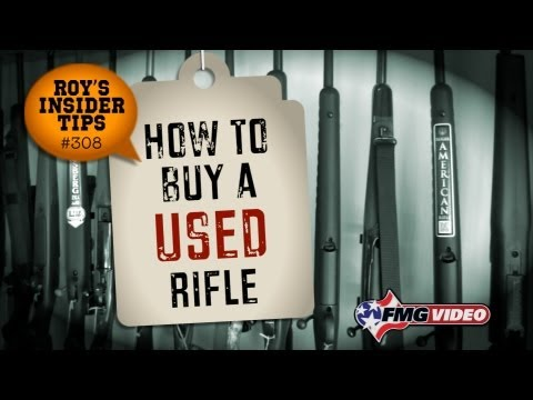 How To Buy A Used Rifle