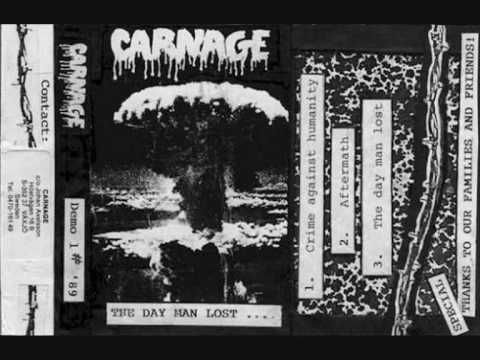 Carnage - Crime Against Humanity online metal music video by CARNAGE
