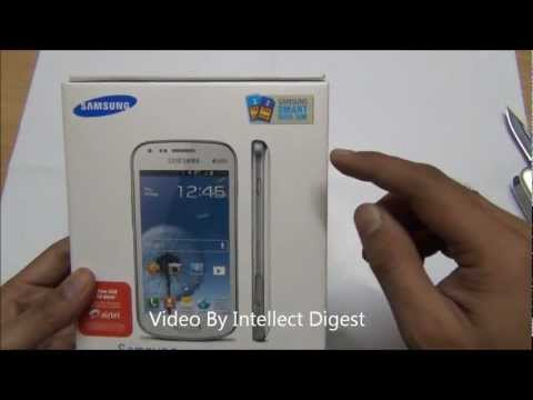 Samsung Galaxy S Duos- S7562 Quick Unboxing and Box Contents