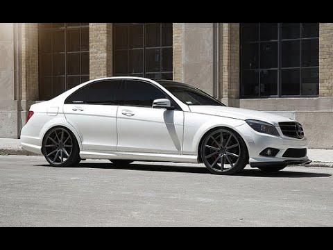 "Mercedes Benz C300 | Vossen 20"" VFS-1 Concave Wheel | Importfest | Toronto"