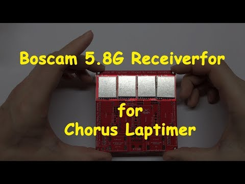 Boscam 5.8G Receiverfor Chorus Laptimer | запчасти к засечке для дрон рейсинга