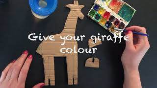How to craft a giraffe