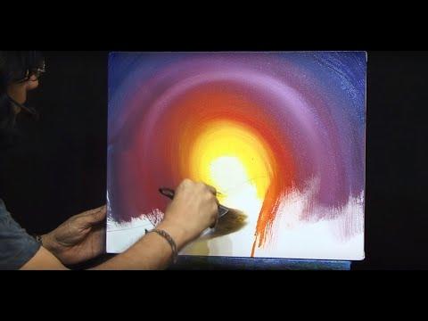 Cómo pintar un paisaje al acrílico