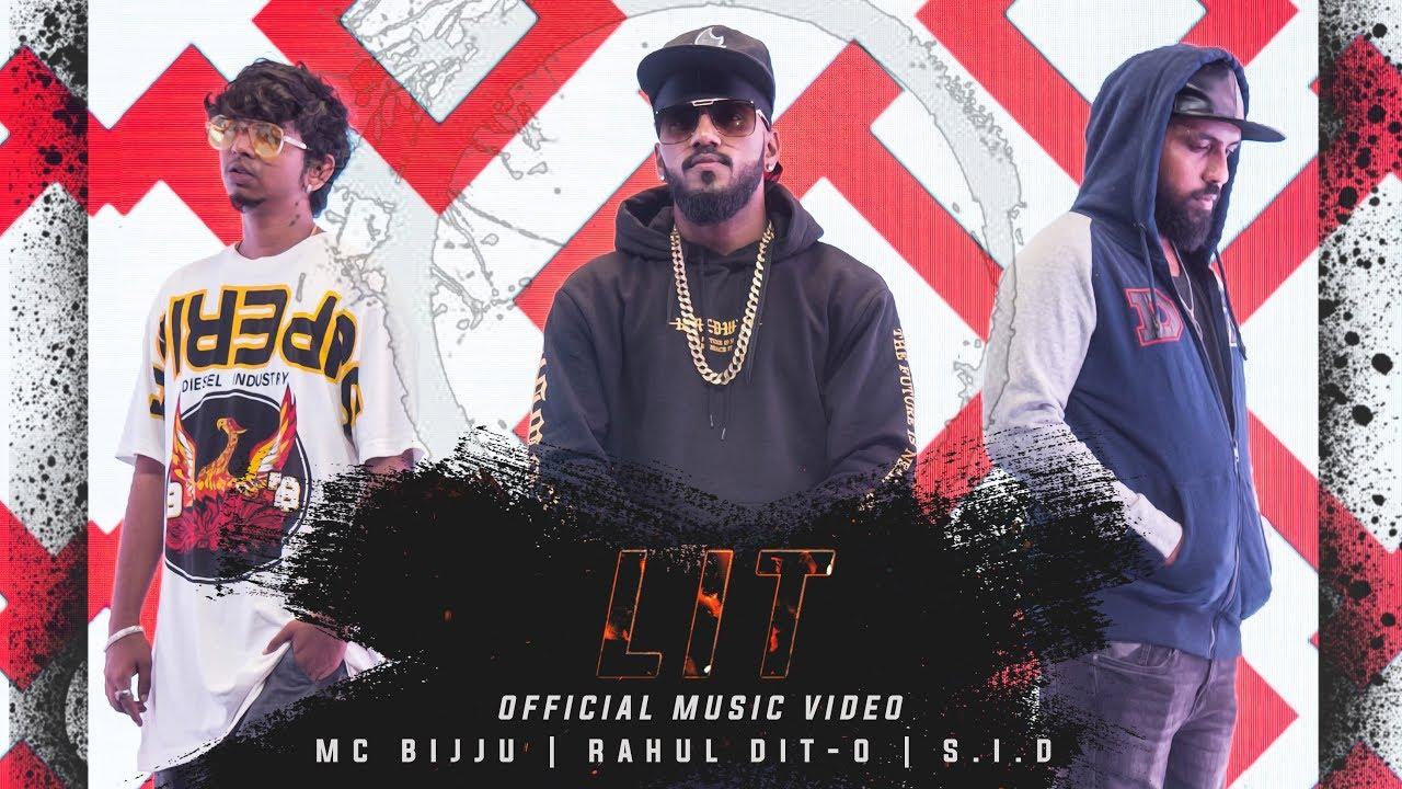 LIT lyrics - RAHUL DIT-O & MC BIJJU - spider lyrics