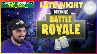 #StreamHYPE LATE-NIGHT FORTNITE | BATTLE ROYALE SQUADS | CHICKEN DINNER ANYONE?