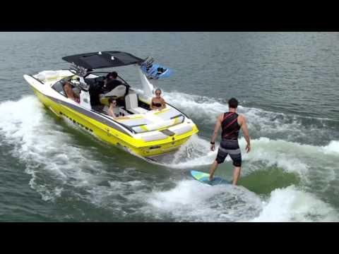 Malibu 24 MXZ Surf Review Waterski