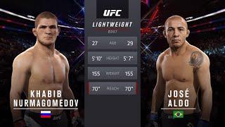 Хабиб vs Жозе Альдо ( Хабиб Нурмагомедов против Жозе Альдо ) UFC 2.