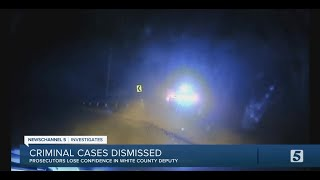 Dashcam video shows White County sheriff's deputy lied on arrest report